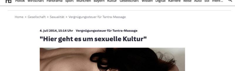 140703 Suddeutschezeitung De Interview Tantra
